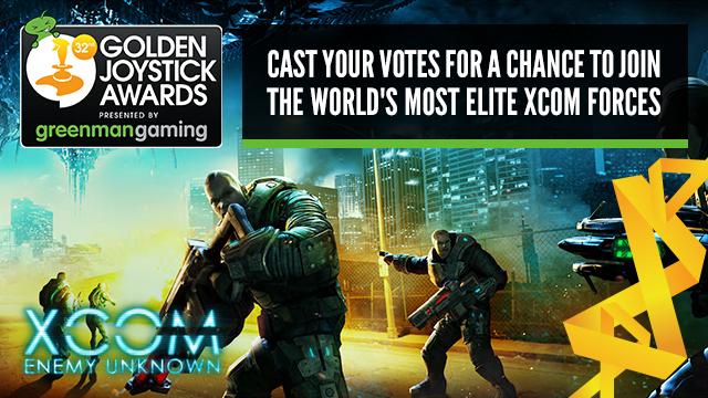 Golden Joystick Awards - Voting now open