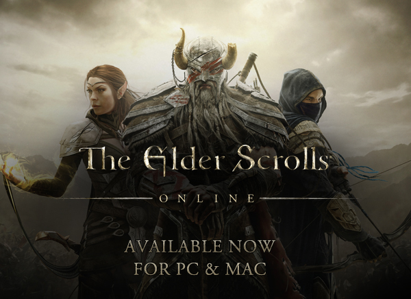The Elder Scrolls Online is available now for PC and Mac